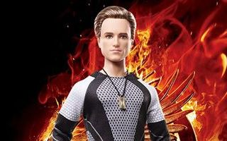 The Hunger Games: Catching Fire Peeta Doll 2013