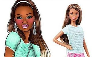 Barbie Fashionistas Capri Cool Doll 2015