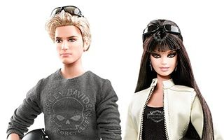 Harley-Davidson Barbie And Ken Giftset 2010