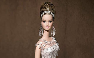 Badgley Mischka Bride Barbie 2004