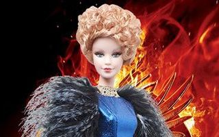 The Hunger Games: Catching Fire Effie Doll 2013
