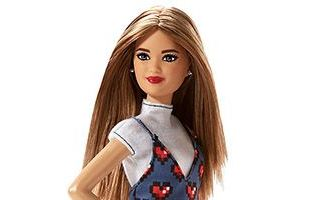 Barbie Fashionistas Wear Your Heart 2018 №81 — Petite