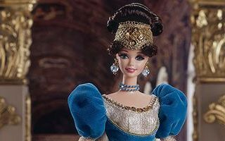 French Lady Barbie 1997