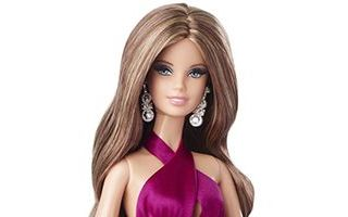 Red Carpet Barbie — Magenta Gown
