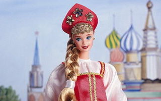 Russian Barbie 2nd Edition 1997