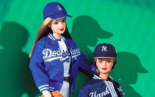 New York Yankees Barbie 1999
