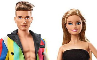 Moschino Barbie and Ken Giftset