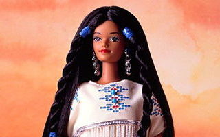 Native American Barbie 1st Edition 1993