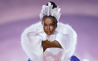 Fire and Ice African-American Barbie 2001
