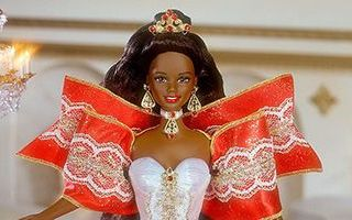 Happy Holidays African-American Barbie 1997