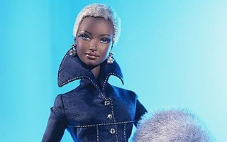 Indigo Obsession Barbie by Byron Lars