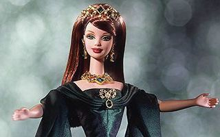 Empress of Emeralds Barbie 2000