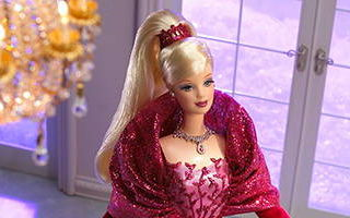 Holiday Celebration Barbie 2002