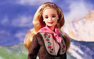 Austrian Barbie 1999