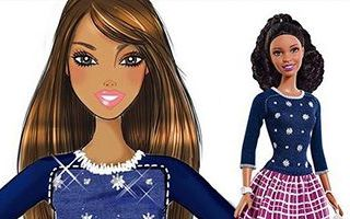 Barbie Fashionistas Silver Stars Doll 2015