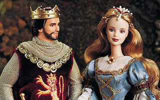 Ken and Barbie as Camelot's King & Queen, Arthur and Guinevere Giftset 1999