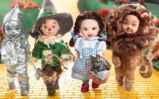 Kelly Doll and Friends — The Wizard of Oz Giftset 2003