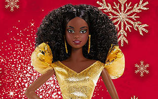 Holiday African-American Barbie 2020