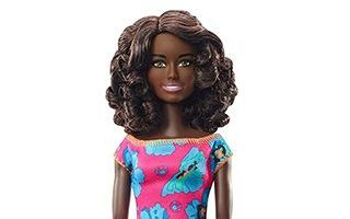 Flowered Dresses Barbie Doll 2019 #GDY32