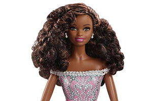 Birthday Wishes African-American Barbie 2017