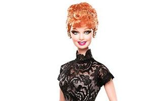 Lucille Ball Legendary Lady of Comedy Barbie 2008