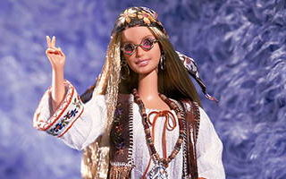 Peace & Love 70's Barbie 2000