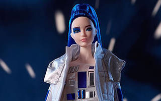 Star Wars R2D2 x Barbie 2019