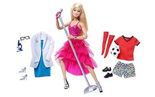 Barbie Made to Move Doll with Fashion Accessories 2016