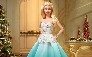 Holiday Barbie 2016 — Aqua Gown