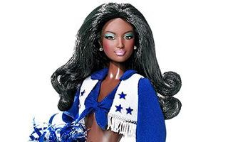 Dallas Cowboys Cheerleaders AA Barbie 2007