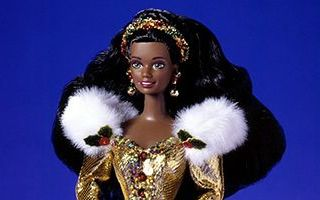 Happy Holidays African-American Barbie 1994