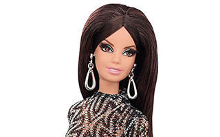 Barbie Look City Shine Lace Dress Doll