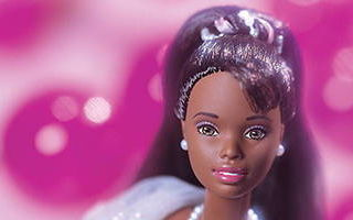 Birthday Wishes African-American Barbie 1999