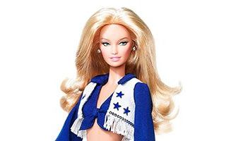 Dallas Cowboys Cheerleaders Caucasian Barbie Doll 2007
