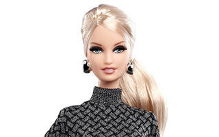 City Shopper Blonde Barbie Doll