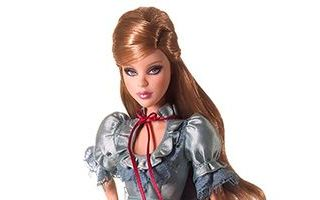 Alice in Wonderland Barbie 2007