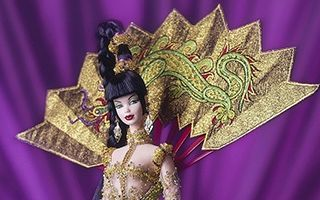 Fantasy Goddess of Asia Barbie 1998