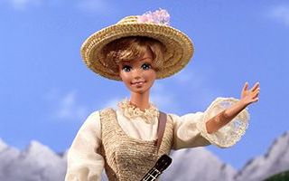 Barbie Doll as Maria in The Sound of Music 1995