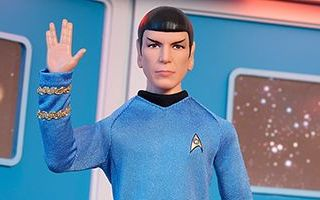 Star Trek 50th Anniversary Spock Doll 2016