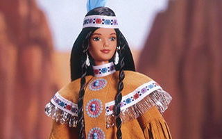 Native American Barbie 4th Edition 1998