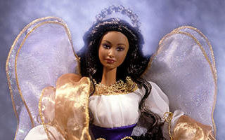 Holiday Angel Barbie African-American 2000
