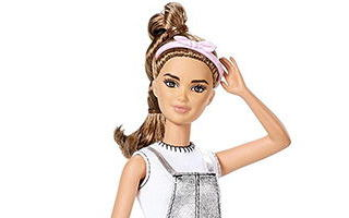 Barbie Fashionistas Doll Sweet For Silver 2017 №62 — Petite