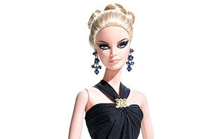 E! Live from the Red Carpet by Badgley Mischka Barbie 2008