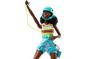 Camping Fun Rock Climber AA Barbie 2017