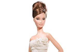 Vera Wang Bride: The Romanticist Barbie 2008 (Brunette)
