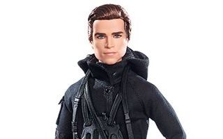 The Hunger Games: Mockingjay Part 2 Gale Doll 2015