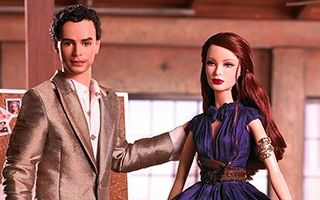 Zac Posen Barbie and Ken 2006