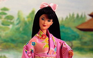 Japanese Barbie 2nd Edition 1996
