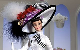 Barbie Doll as Eliza Doolittle from My Fair Lady at Ascot 1996