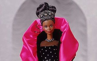 Happy Holidays African-American Barbie 1998